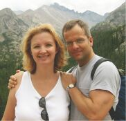 bruce and mary ellen hiking in colorado